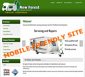 new forest caravan services