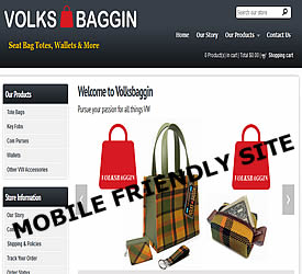 Volksbaggin hand made accessories